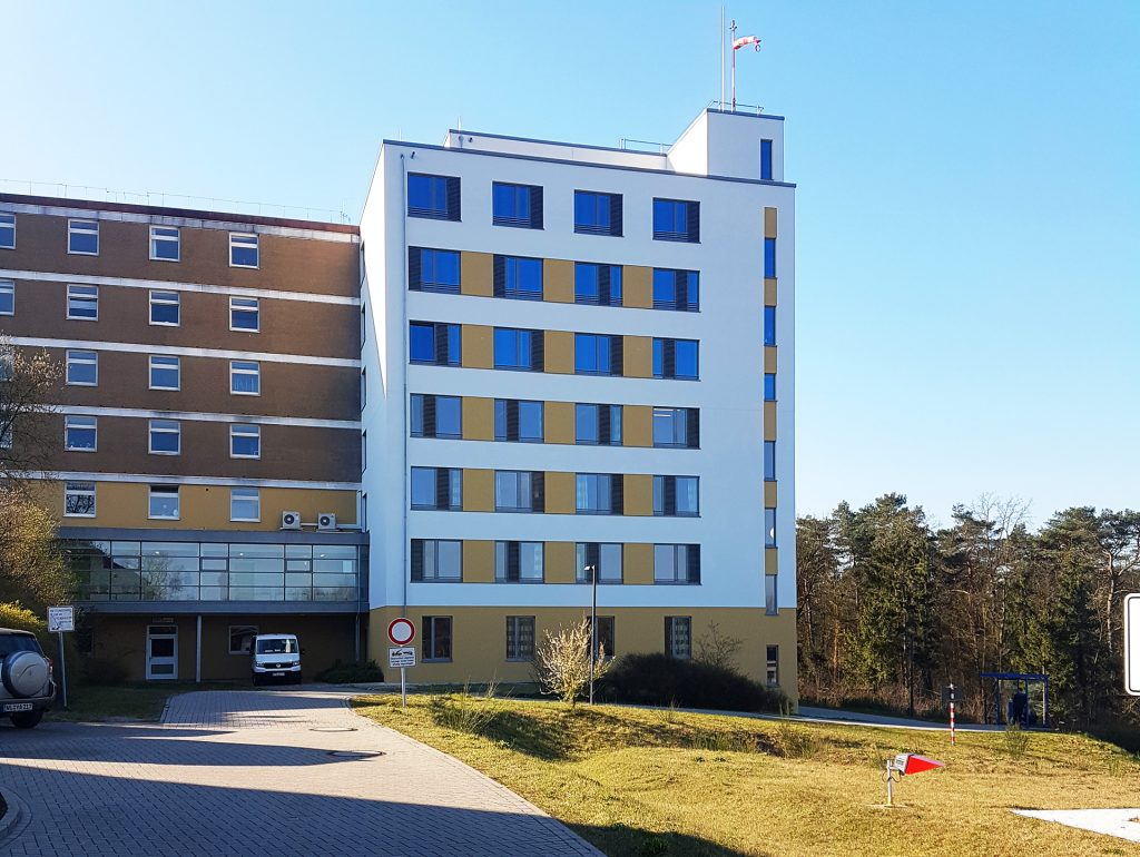Krankenhaus Buchholz Aufstockung fertig gestellt